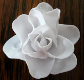 Flor de colher descartável passo 6 (Mobile)