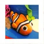 Peixe Nemo de biscuit passo a passo