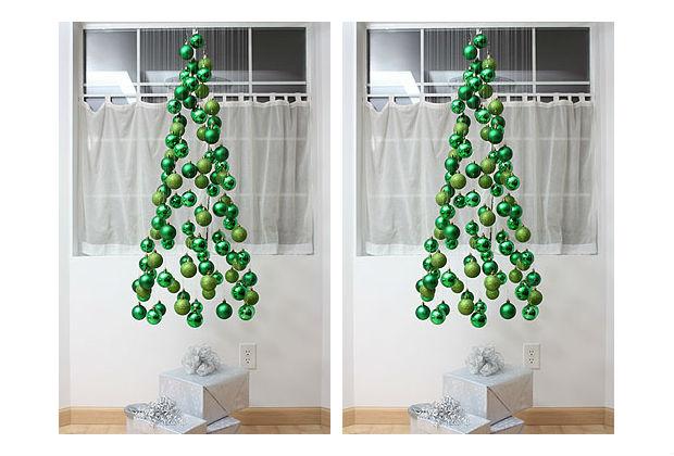 decoracao arvore de natal passo a passo:Árvore de Natal suspensa passo a passo