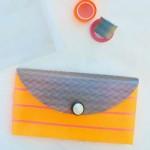 Artesanato com fita adesiva colorida passo a passo