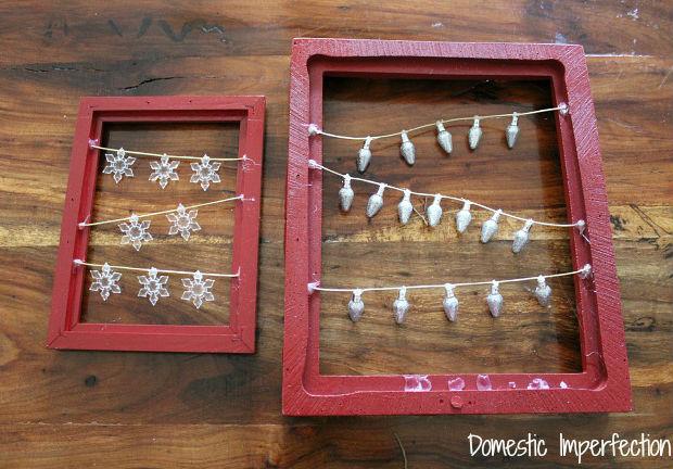 Artesanato Geraldi ~ Como fazer artesanato com quadros natalinos