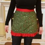 Como fazer um avental para o Natal