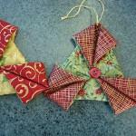 Enfeites de Natal em tecido passo a passo