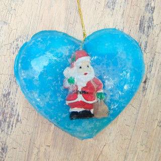 Sabonete artesanal para o Natal