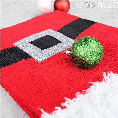Toalha de mão de Natal