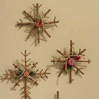 Decoração de Natal estilo rústico