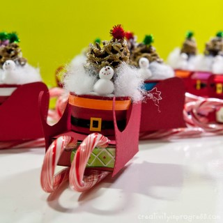 Trenó do Papai Noel passo a passo (Mobile)