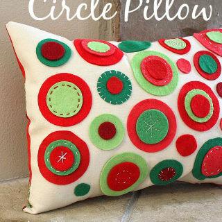 Almofada decorada fácil