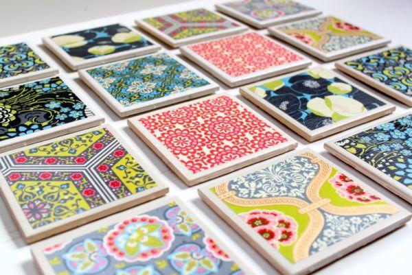 Decorar azulejos é muito fácil e você pode utilizar o estilo que preferir (Foto: thecottagemama.com)