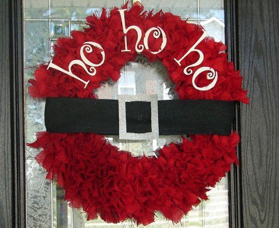 Há muitas e lindas ideias para fazer guirlanda de Natal (Foto: alililyblog.com)