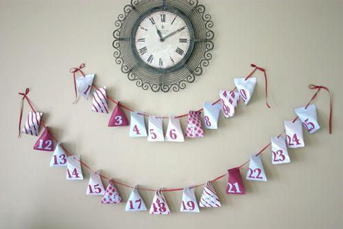 Ideias para fazer um calendário do advento não faltam (Foto: mumsgrapevine.com.au)