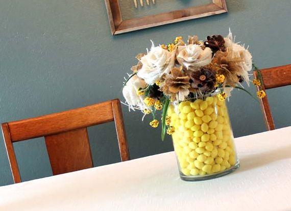 Ideia para Fazer Arranjo com Flores Artificiais Rústicas