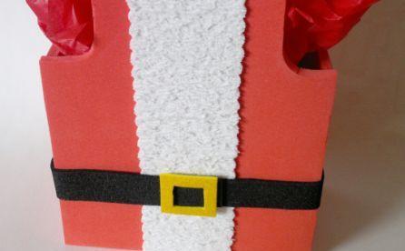 Porta Guloseimas do Papai Noel Passo a Passo
