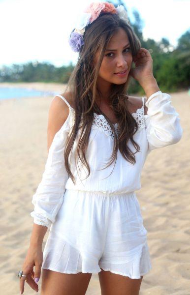 Escolha o seu preferido entre os vários looks para o réveillon 2016 na praia (Foto: pinterest.com)