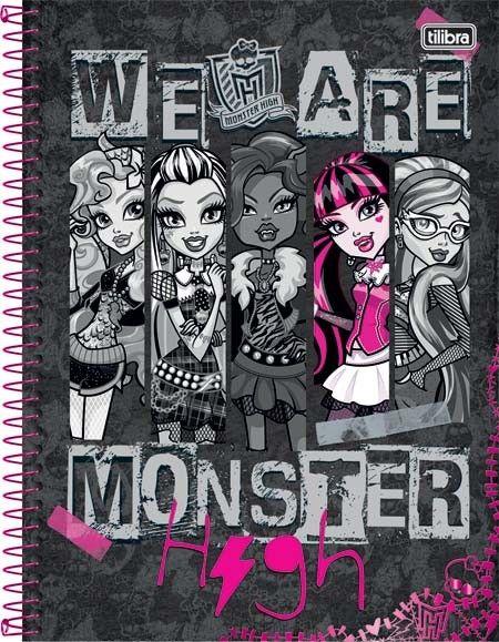 O material escolar da Monster High 2016 vai fazer o maior sucesso com os seus filhos (Foto: tilibra.com.br)