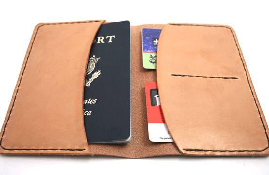 Porta passaporte e cartões de crédito pode ser uma fonte de renda extra, se você comercializá-lo (Foto: poppytalk.com)
