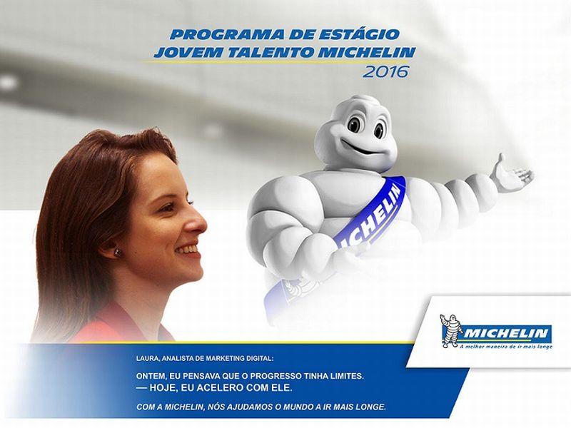 Inscrição para o Estágio Michelin 2016