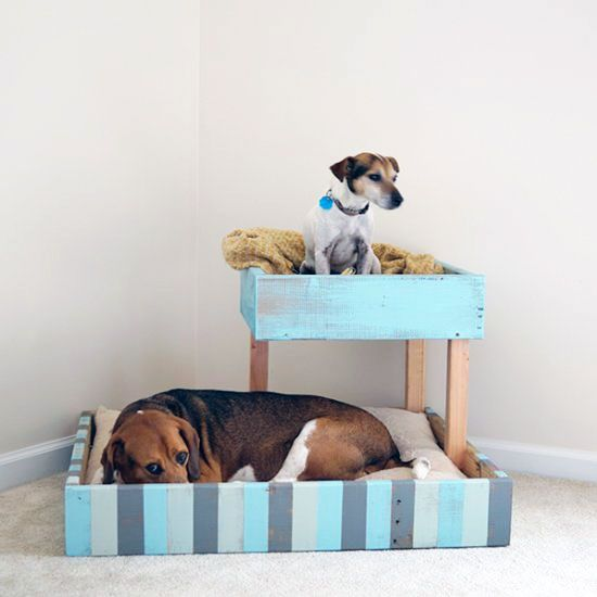 How To Make A Dog Bed From A Pallet