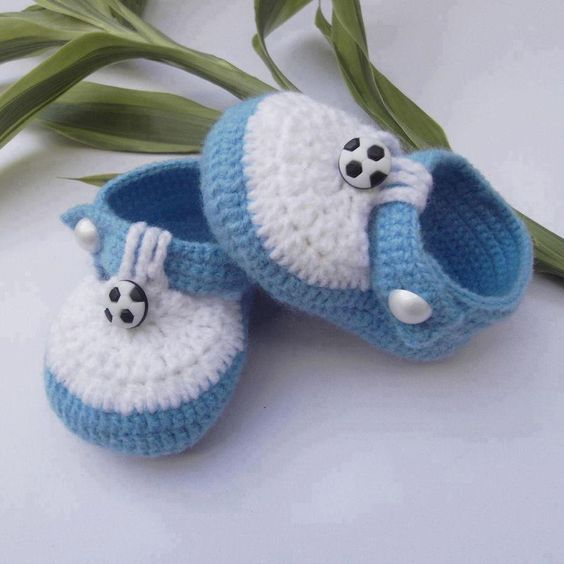 Sapatinhos de Crochê para Bebê