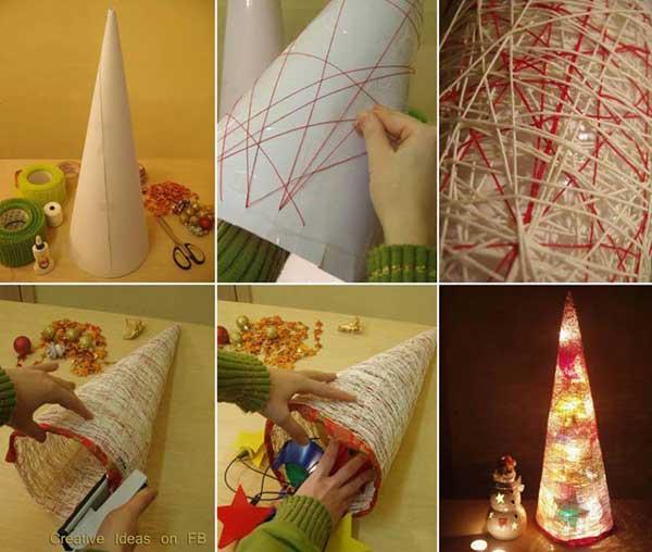 Armario Persiana Horizontal ~ 15 Ideias de Artesanatos de Natal para Fazer com Alunos