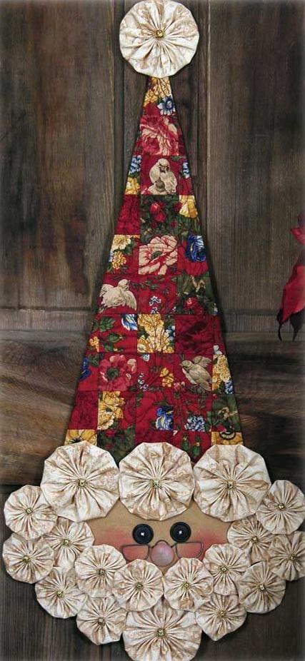 Artesanato Vintage Passo A Passo ~ 25 Ideias de Artesanato em Tecido para o Natal
