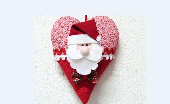 Sugestões de Artesanato em Tecido para o Natal