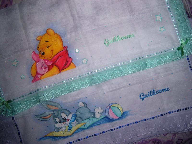 Dicas de Pintura em Tecido para Bebê