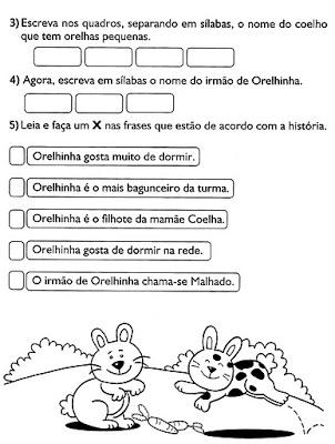 Dicas de Atividades de Páscoa para Educação Infantil para Imprimir