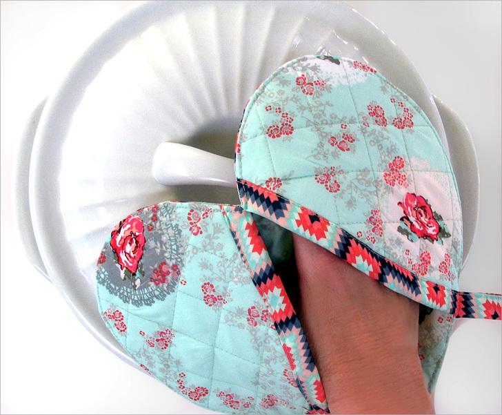 como fazer artesanato em tecido para cozinha passo a passo