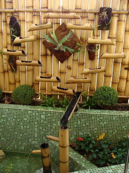 artesanato de bambu para jardim dicas