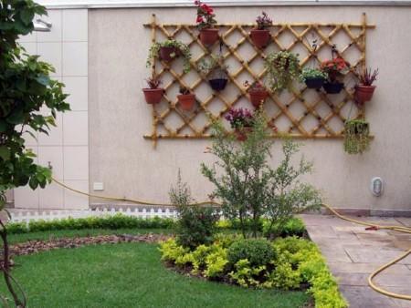 dicas de artesanato de bambu para jardim