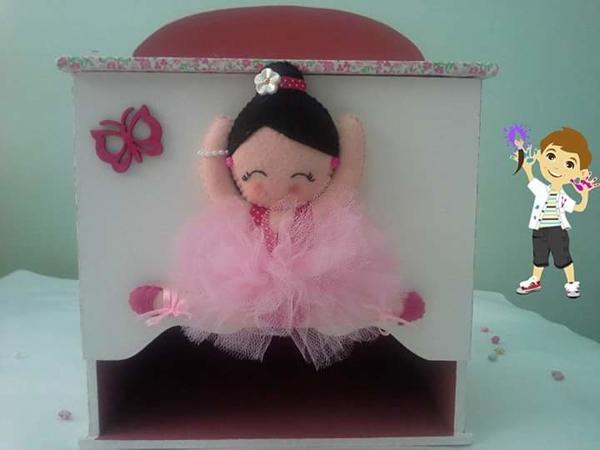 caixa de MDF infantil