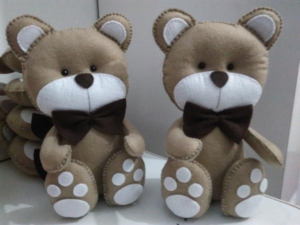 enfeite infantil de ursinho