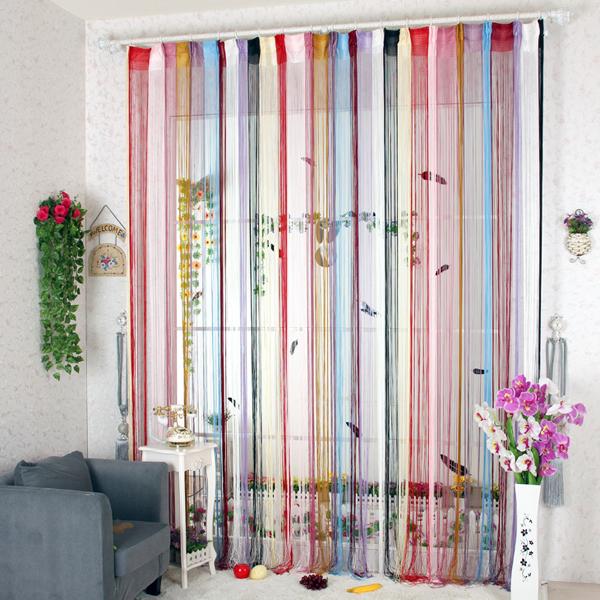 cortina de tiras