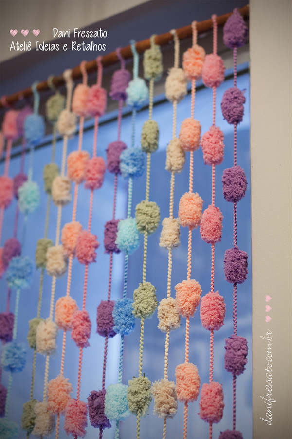 cortina de lã
