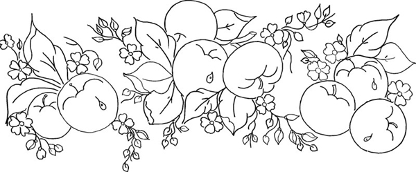 risco de cerejas