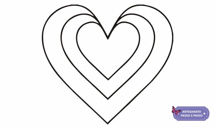 molde e riscos de coração