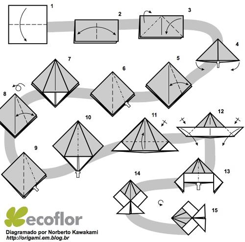 origami peixinho
