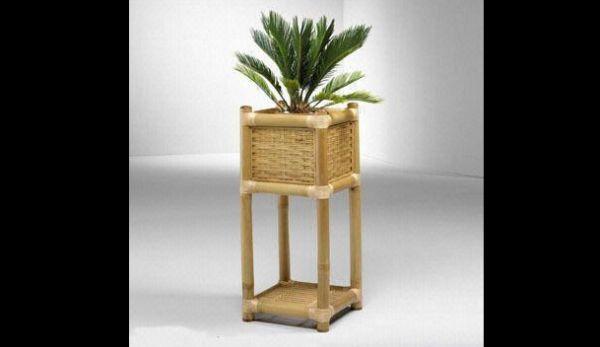 suporte de bambu