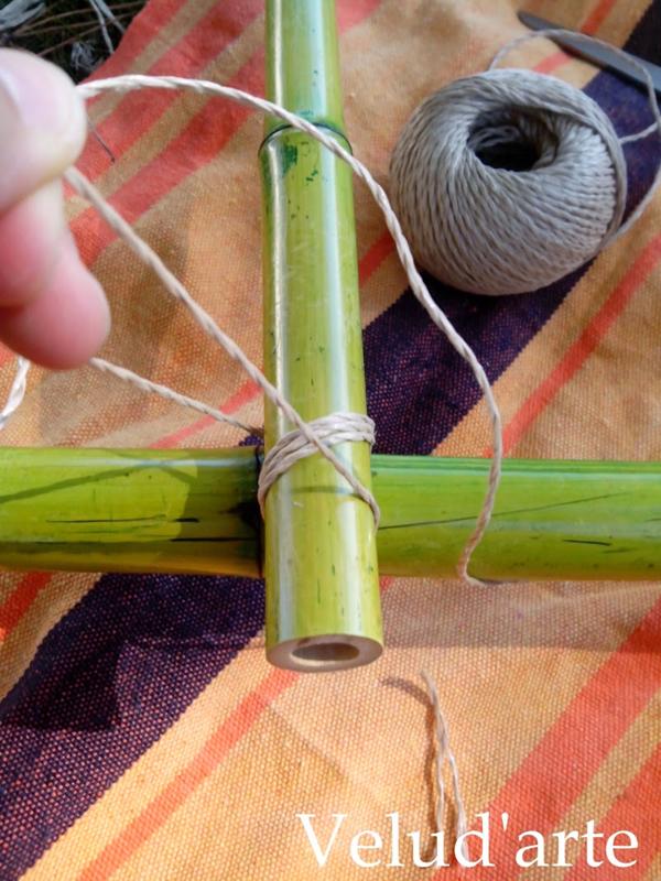 emenda de bambu