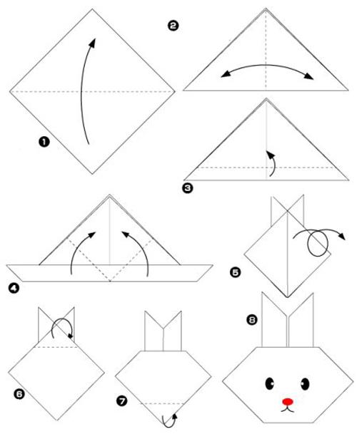 origami coelho