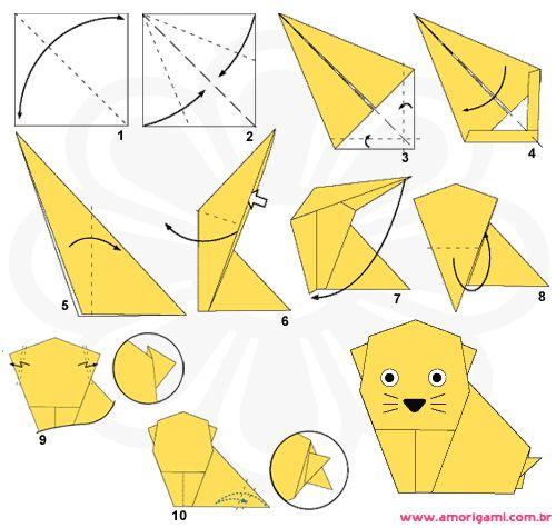 origami castor
