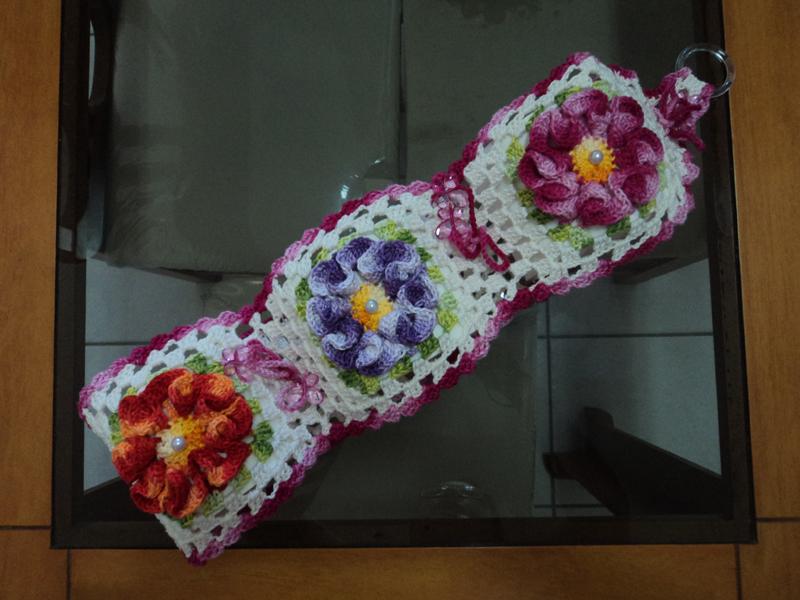 porta papel higienico colorido