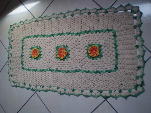 tapete croche florzinha