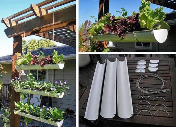 jardim vertical com canaleta