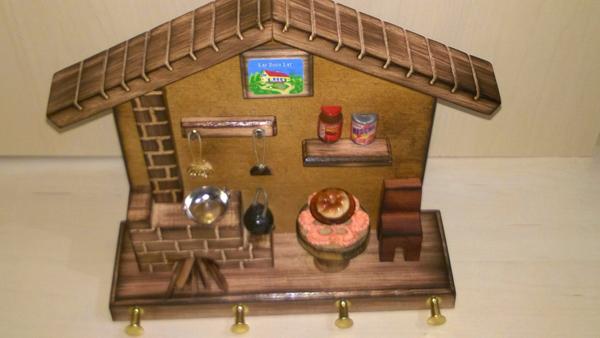 artesanato para cozinha casinha