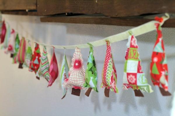 arte para natal 2017 cordão de arvore