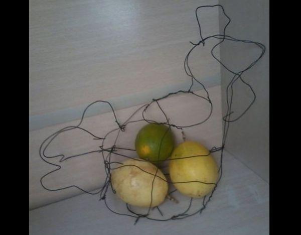 artesanato para cozinha fruteira