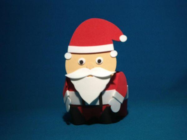 lembrança de natal noel tipo lego