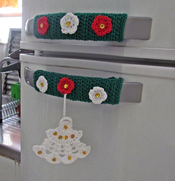 artesanato para cozinha pegador de geladeira